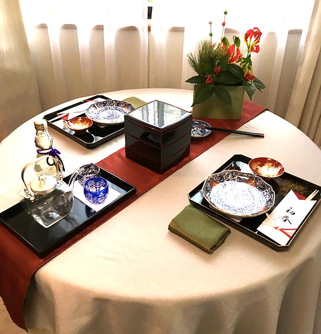 テーブル(初春)