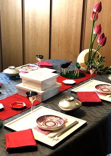 テーブル(盂蘭盆会)